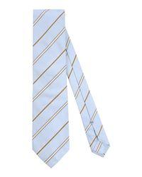 Ermenegildo Zegna - Blue Tie for Men - Lyst