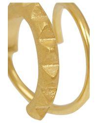 Maria Black - Metallic Klaxon Gold-Plated Earrings - Lyst