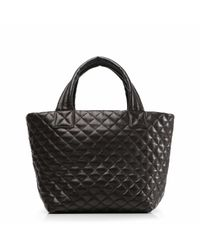 MZ Wallace | Black Leather Metro Tote | Lyst