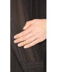 Gorjana - Metallic Nira Midi Ring Set - Gold - Lyst