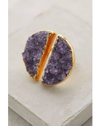 Dara Ettinger | Purple Pallanza Druzy Ring | Lyst