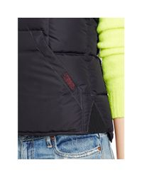 Polo Ralph Lauren - Black Reversible Full-zip Down Vest - Lyst