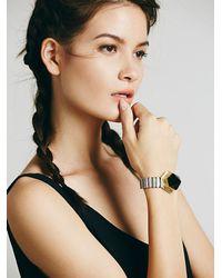 Free People - Metallic Flight Of Fancy Womens Time Keeper Quartz Bracelet - Lyst