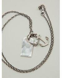 Werkstatt:münchen | Metallic 'm361' Necklace | Lyst