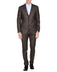 Brunello Cucinelli - Natural Suit for Men - Lyst