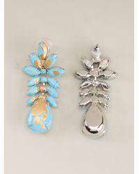 Tom Binns | Blue Crystal Earrings | Lyst