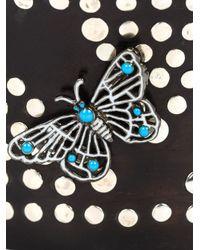 M.c.l  Matthew Campbell Laurenza | Black Butterfly Studded Horn Cuff | Lyst