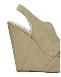 Chinese Laundry - Natural Tone Heeled Wedge - Lyst