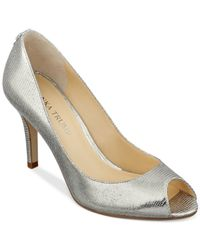 Ivanka Trump | Metallic Cleo Pumps | Lyst