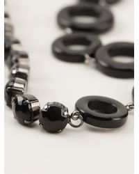 Max Mara - Black Sarzana Necklace - Lyst
