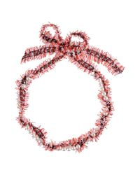 Lanvin | Red Necklace | Lyst