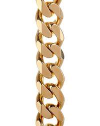 Balenciaga | Metallic Arena-Stud Chain Necklace | Lyst