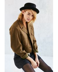 Urban Outfitters | Black Penny Porkpie Hat | Lyst