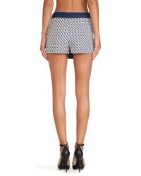 Blaque Label - Blue Mini Skirt - Lyst