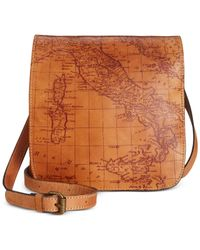 Patricia Nash | Brown Tooled Granada Crossbody | Lyst