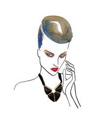 Marion Vidal - Metallic Coeuraline Necklace - Lyst