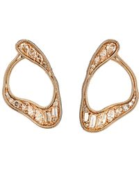 Fernando Jorge - Metallic Women's Stream Loop Earrings - Lyst