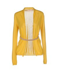 Jucca - Yellow Cardigan - Lyst