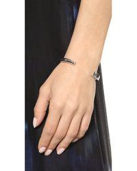 Elizabeth and James - Metallic Serra Cuff Bracelet - Silver - Lyst