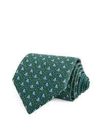 Thomas Pink | Green Bird On Branch Classic Tie for Men | Lyst