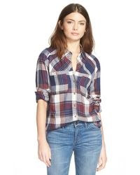 Ace Delivery - Blue Plaid Shirt - Lyst