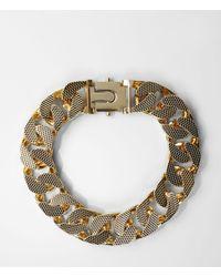 AllSaints - Metallic Teneil Necklace - Lyst
