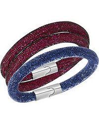 Swarovski | Multicolor Stardust Ee Bracelet Size Small | Lyst