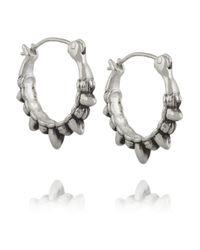 Pamela Love - Metallic Tribal Spike Silver Earrings - Lyst
