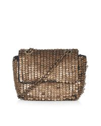 TOPSHOP - Metallic Heavy Embellished Crossbody Bag - Lyst