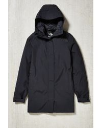 The North Face | Black El Misti Hooded Long Parka Jacket for Men | Lyst