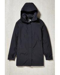 The North Face - Black El Misti Hooded Long Parka Jacket for Men - Lyst