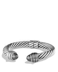 David Yurman | Black Cable Classics Bracelet With Hematine | Lyst