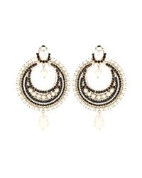 Givenchy - Metallic Pearl-embellished Clip-on Earrings - Lyst