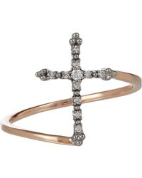 Stone - Metallic Grace Ring - Lyst