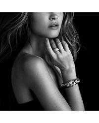 David Yurman - Metallic Metro Cuff With Diamonds And Gold - Lyst