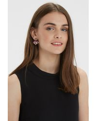 Oasis - Multicolor Pretty Facet Earrings - Lyst