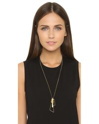 Wouters & Hendrix | Metallic Charm Pendant Necklace - Gold Multi | Lyst