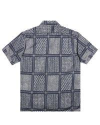 Engineered Garments - Blue Camp Shirt for Men - Lyst