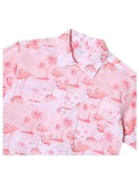 Engineered Garments - Pink Camp Shirt for Men - Lyst