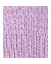 Jil Sander | Purple Cashmere Top | Lyst