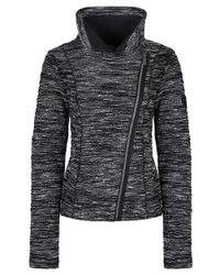 Bench - Black Turtleneck Sweater Jacket - Lyst