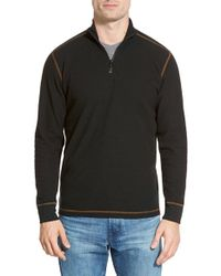 Agave | Black 'julias' Quarter-zip Pullover for Men | Lyst