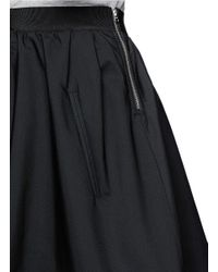 Acne Studios - Black 'romantic' Flare Skirt - Lyst