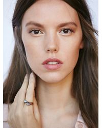 Free People | Brown Hawk House Womens Raw Opal Ring | Lyst