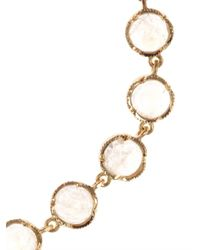 Irene Neuwirth - Metallic Rainbow Moonstone Gold Bracelet - Lyst