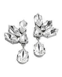 Mews London | Metallic Crystal Ear Cuff | Lyst