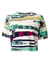 KENZO | Multicolor 'Torn Paper' Sweater | Lyst