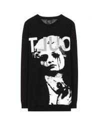McQ - Black Knitted Sweater - Lyst