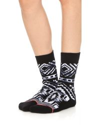 Stance - Tomboy Crawler Socks - Black - Lyst