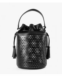 Loeffler Randall | Black Industry Perforated Bag | Lyst